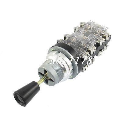 AC 380V 15 Amp 4 Position Spring Return Joystick Switch Controller HKA1-42<br><br>Aliexpress