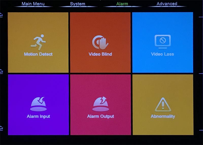XMeye Hisilicon Chip H264+ 16CH 8CH 4MP Full HD 5 in 1 Hybrid Coaxial WIFI ONVIF TVi CVI IP NVR AHD CCTV DVR menu picture 02