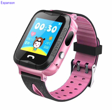 Espanson V6 Children Smart Watch With GPS Camera Facebook Emergency Security Anti Lost SOS For ISO Android waterproof baby Watch(China)