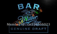 LA424- Bar Miller Beer LED Neon Light Sign