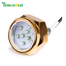 Waterproof 12V-24V 27W Boat Drain Plug Light 9 LED Boat Light Underwater Boat Lamp NPT Threaded Fountain Pool Pond Lamps Light(China)