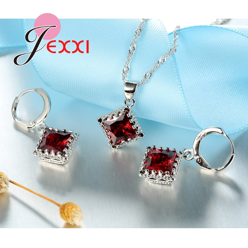 JEXXI-Luxury-Bridesmaid-Jewelry-European-Big-Square-Crystal-Necklace-Earrings-Set-Fashion-Silver-Women-Wedding-Accessories (1)