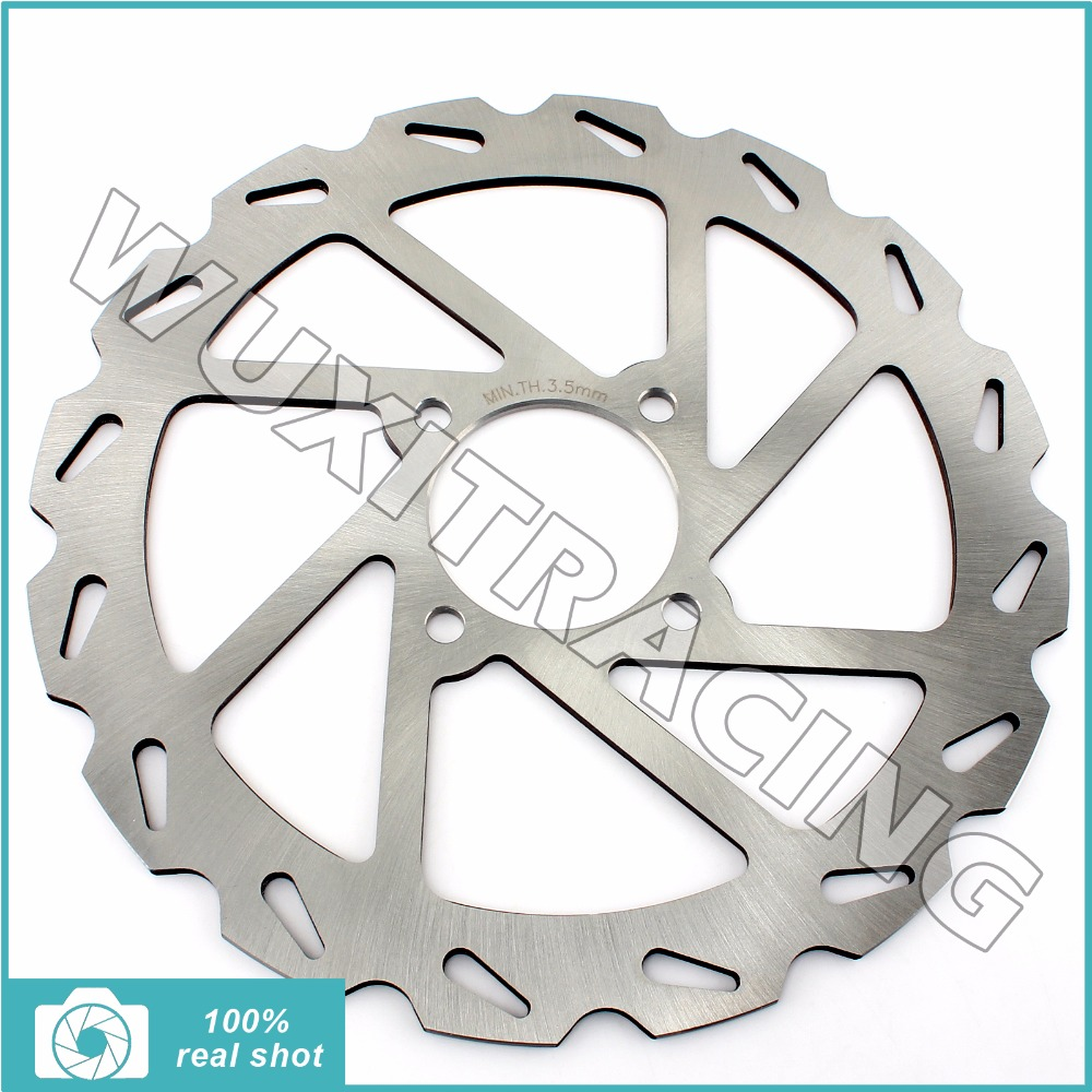 245mm New Silver Light Weight Dirt Bike ATV Quad Front Brake Disc Rotor for YAMAHA YFM 350 Warrior 1990 1991 1992 1993 1994<br>