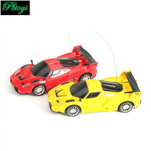 1PCS 2 Channels Rc Car Wireless Radio Control Cars Electric Toys For Boys Machine To Remote Control Car Model Gift PI0648