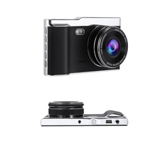 New 4.0 Inch Full HD Car DVR Recorder LCD IPS Dual Lens Night Vision Auto Rear View Camera 170 Degree Digital Video Camcorder