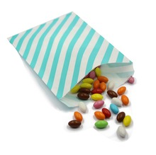 "50Pcs 5""*7"" Wedding Mint Paper Favor Bags Cookie Bags Candy Buffet Bags"