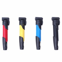 Multi-functional Portable Bicycle Cycling Bike Air Pump Tyre Tire Ball US Mini Pump Black