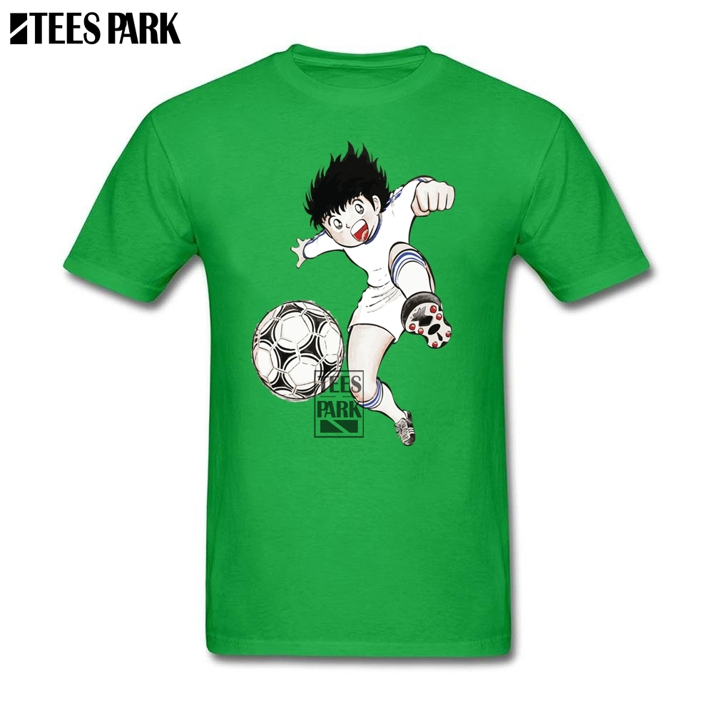 Hot T-Shirt Plus Size Captain Tsubasa Ohzora T Shirt Round Collar Great Discount Men's Crazy T Shirts Best Selling