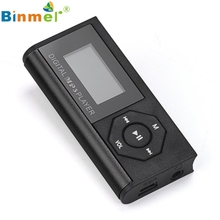Mini USB MP3 Music Media Player LCD Screen Support 16GB Micro SD TF Card
