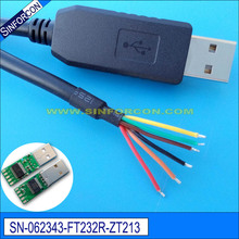 win 10 Android mac ftdi ft232rl usb rs232 adapter cable compatible usb-rs232-we(China)