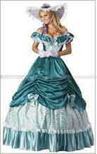 Colonial Civil War Scarlett Party Dress Southern Belle Lolita Cosplay Ball Gown(China)