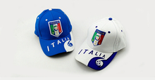 23 teams can choose for italy caps soccer Red Black football badge caps Adjustable Cotton Shower caps hat(China)