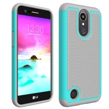 Buy LG LV5 LV 5 M250 K10 2017 PC +Silicone 3d Texture Anti Shock Armor Protective Case LG K 10 2017 Non-Slip Cover Hard Case for $4.27 in AliExpress store