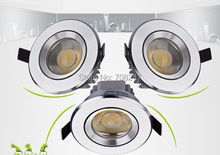 Hot sale DHL Free Shipping Wholesale price High Power Dimmable 15W COB LED CREE Downlight AC110V/220V