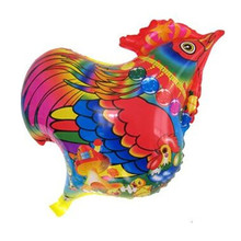2pcs/lot Cartoon Rooster Balloon Birthday Party Foil Balloon Wedding Decoration Supplies Kids Classci Toy Balloon 52*41cm