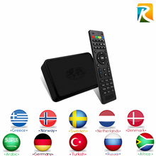 Arabic IPTV MAG254 IPTV Box Royal IPTV 2000+ Arabic French Europe UK IPTV 4800 Channels Linux 2.6.23 STiH207 MAG 254 Set Top Box(China)