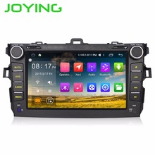 "Joying Quad Core 1024*600 Android 6.0 T-oyota Corolla 2din Car DVD Player GPS Navigation System Radio 8"" Automotive Car Radio"