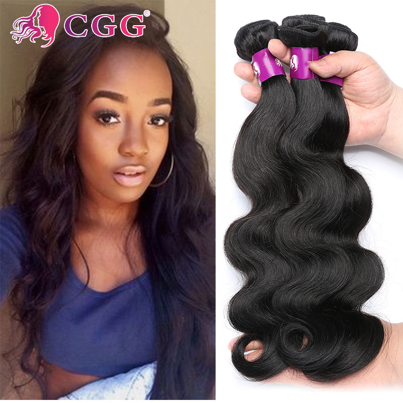 CGG Human Hair Extensions Peruvian Virgin Hair Body Wave 3 Bundles Lot 7A Grade 100% Unprocessed Human Hair Weave Tangle Free<br><br>Aliexpress