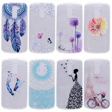 Soft TPU Mobile Phone Cases For LG K7 LTE Tribute 5 LS675 Q7 LTE MS330 5.0 inch K7 Dual SIM K7 M1 Housing Covers Skin Shell Hood
