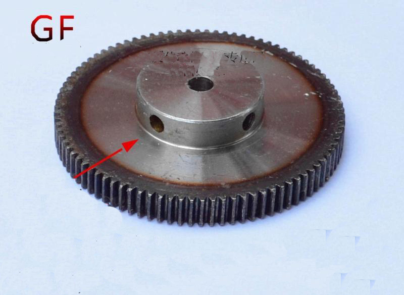 Spur gear finishing gear 1 mod 130teeth 1M130T Bore 10mm motor accessory drive robot race transmission RC car<br>