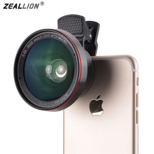 Buy ZEALLION 2 1 0.6X Super Wide Angle High Definition Mobile Phone Lens Thread Macro Lens Cell Phone for $11.97 in AliExpress store