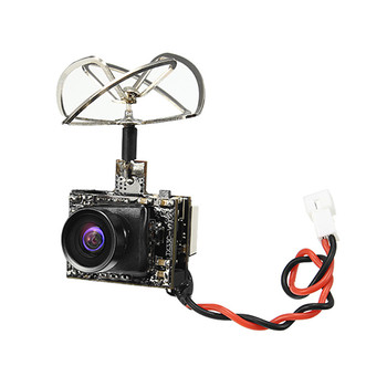 Hot New Eachine TX03 PAL Super Mini 0/25 mW/50 mW/200 mW Conmutable AIO 5.8G VTX 72CH 600TVL FPV Cámara
