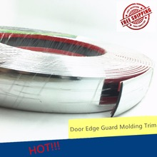 Decoration Molding Trim Strip Auto Car Chrome Window Handle Door 30mm DIY Silver Color Self Adhesive(China)