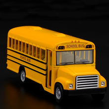 Brand New 1:32 American school bus Alloy model toys Leap to jump Children like the gift Free Shipping