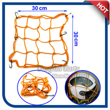 Luggage Cargo Tank Helmet Tie Down Bungee Mesh Net For Street Motor Bike Motorcycle Parts(China)