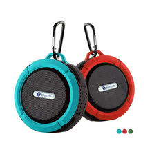 C6 Waterproof Wireless Bluetooth Speaker For iPhone Music Player Loudspeaker Subwoofer Stereo Support TF Card With Stand Hook