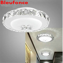 LED Entrance Crystal Light  ceiling lamp  Bedroom Living Room Corridor Wall Sconce Home Decorate Lighting  Indoor Wall Lamp nb13