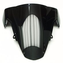 Smoke& Clear Motorcycle Windshield WindScreen For GSXR1000 GSXR 1000 K3 2003-2004  Double Bubble ABS