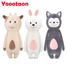 28cm Kawaii animal plush dolls kids stuffed toys for children soft comfort baby toys Cows/rabbit/fox/teddy bear