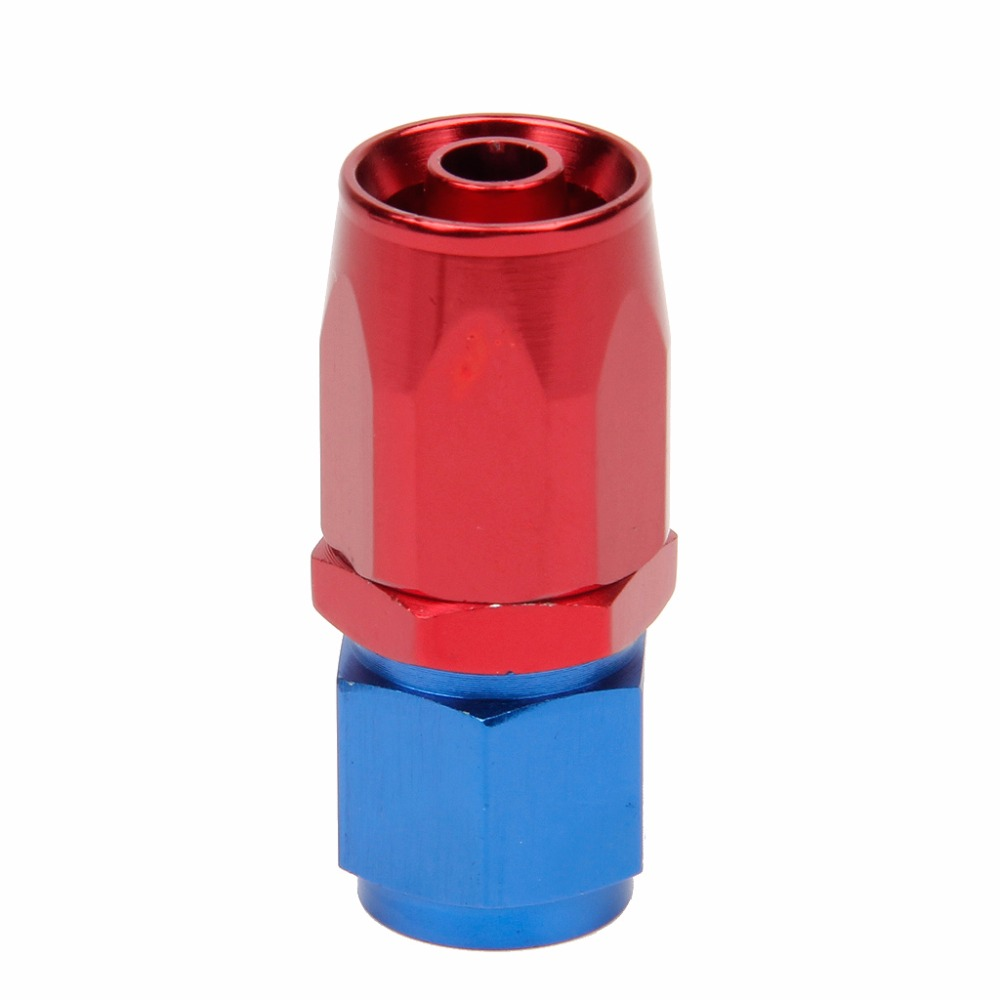 An8 8an an 8 45 degree reusable swivel ptfe hose end - 1pc Aluminum Alloy An6 6 An 0 45 90 Degree Fast Flow Reusable Straight Swivel Seal Braided Hose End Fitting Adapter New C45