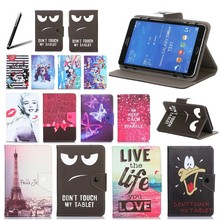 Histers Universal Cover for UNIVERSAL for 7/7.85/7.9/8 inch Tablets with IPS 1280*800 Printed PU Leather Stand Case(China)