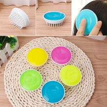Resin Cleaning Scrubber Hair Scalp Massager Shampoo Brush Head Massager Comb -B118(China)