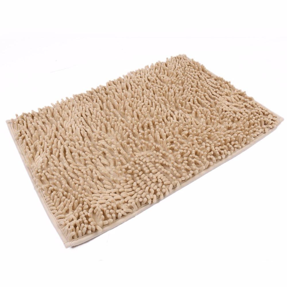 Grosshandel 40 60 Cm Mikrofaser Chenille Bad Teppiche Teppich Shag