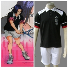 The Prince Of Tennis Anime  Fudomine Summer Tennis Apparel halloween Cosplay Costume
