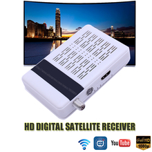HD Digital Satellite TV Receiver Support IPTV DVBSW HD Satellite TV Receiver Full HD Mini Satellite TV Receiver Set Top Box(China)