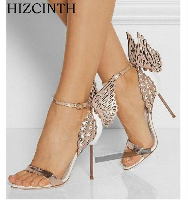 HIZCINTH High Heels Sandals Women 2018 Summer Shoes Three-dimensional Bow Color Matching Pumps Sandali Eleganti Sandalias Sandal<br>