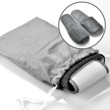 disposable slippers with nonwoven storage bag  travel set disposable slippers set