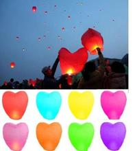 Sky Lanterns Chinese Paper hot air Balloons Candle Wishing Wedding Party Flying Lamp photography props festive decoration light