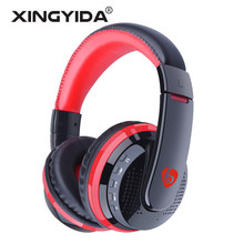 XINGYIDA MX666 Bluetooth Headphone Stereo HIFI Wireless Earphones Gaming Headset With Microphone TF FM Radio for Xiaomi Sony