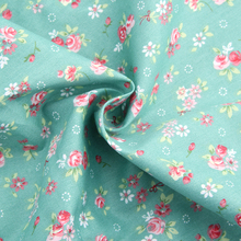 NEW High Quality (50X160CM) Blue Cotton Floral  Fabric Diy Textiles Sewing Patchwork Fabric For Bags Clothes Curtain A1-1-109