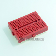 SYB-170  Red bread board test board color small breadboard  35X47mm imported materials