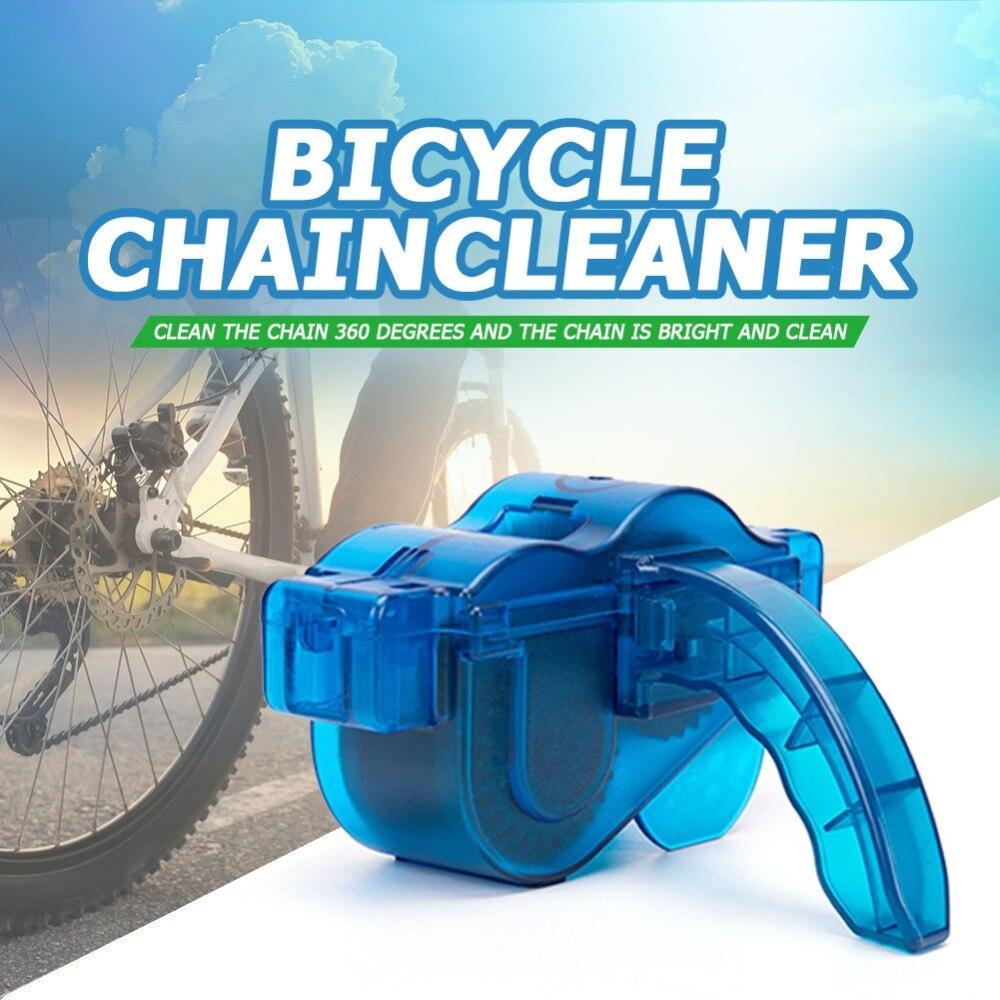 Cycling Bike Chain Cleaner Bike Cleaning Machine Brushes Bicycle Wash Tool