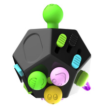 New 2017 Fidget Cube Fidget toys for Girl Boys Christmas Gift Squeeze Fun Stress Reliever Anti Stress Cube Silica gel ball(China)