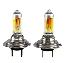 XENCN 12V 2300K Golden Eyes Super Xenon Yellow Bright Car Halogen Headlights Off Road Used Car Lighting Source H1 H3 H4 H7
