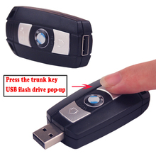 Professional Famous Car Key usb flash drive pen drive 64GB 32GB 16GB 8GB usb flash drive memory stick pen drive usb gift