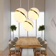 2017 newest Italian Design Modern Acrylic Crescent Light pendant lights lamps Ac90-260v Fixture Lighting bar kitchen living room(China)